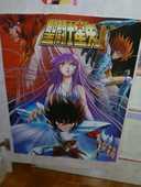 Poster saint seya japon manga anime chevalier zodi 4 Semécourt (57)