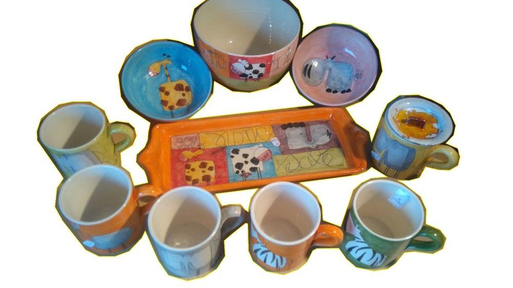 Poterie collection du potier MDC animaux créations céramique Décoration