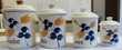 4 pots à épices anciens en faience GIVORS