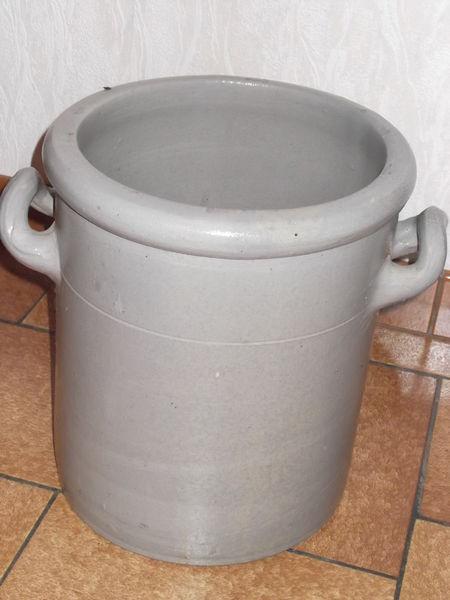 pots grés Décoration