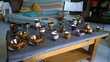 Pots de Jersey ou copper luster Jugs and cups
