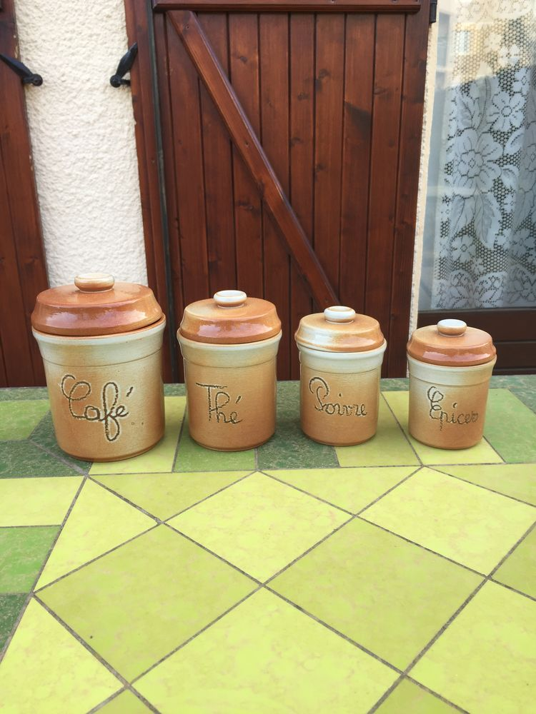Lot de 4 pots de rangement pour aliments 6 Saleilles (66)