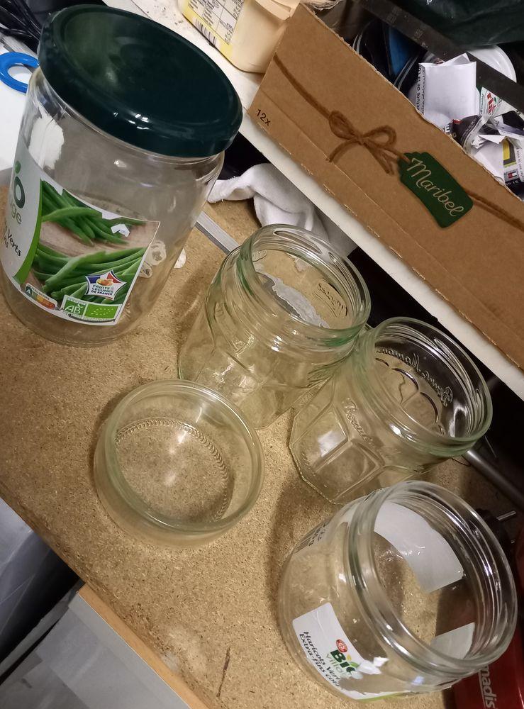 lot de pots en verre plusieurs dimensions 3 Ancenis (44)