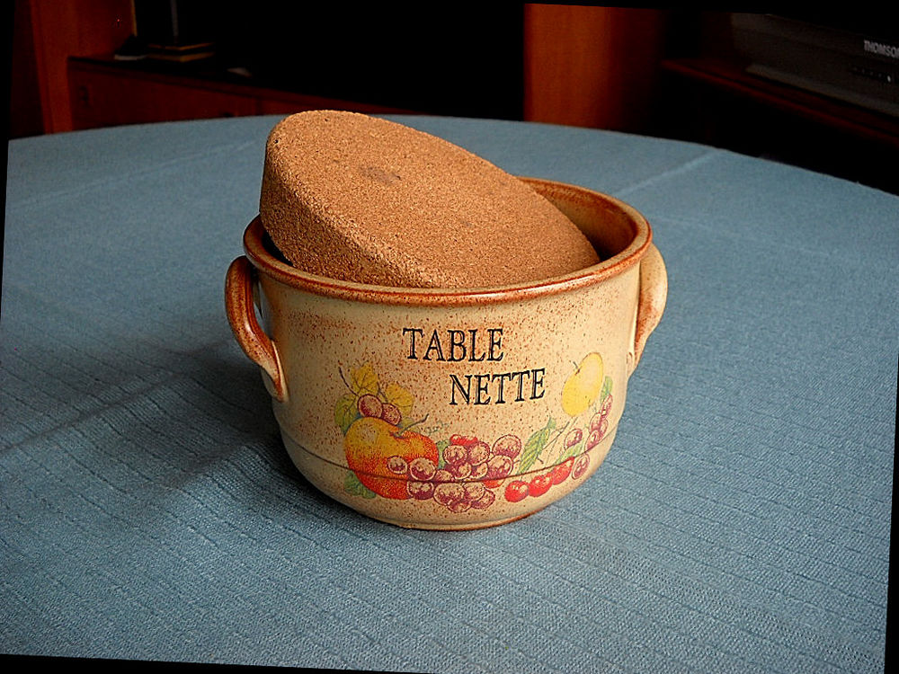 Poubelle de table en céramique décorée 10 Paris 13 (75)