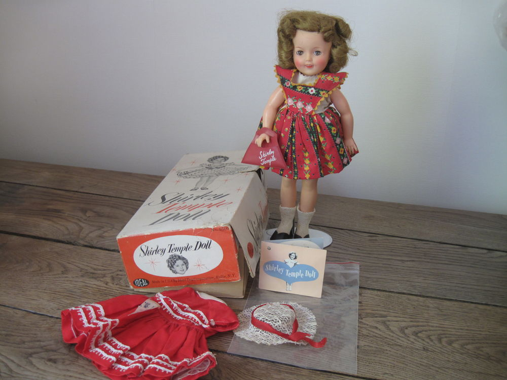Poupée ancienne Shirley Temple Doll Ideal 289 Beaubourg (77)