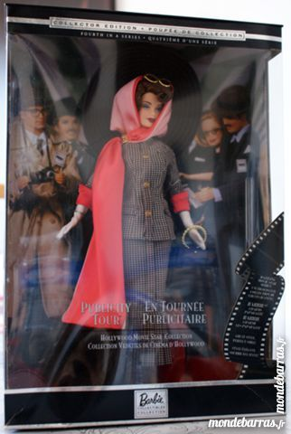 Poupée Barbie collection   En tournée publicitaire    100 Cabestany (66)