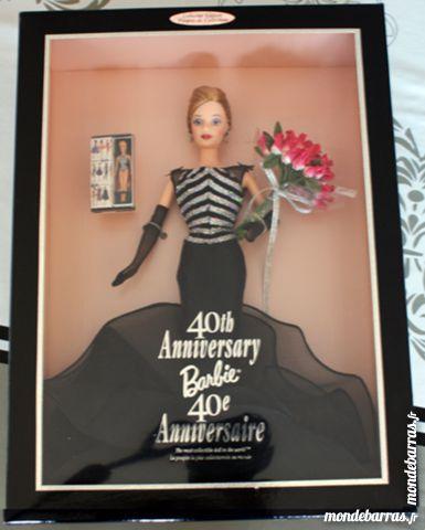 Poupée Barbie de collection 40ème anniversaire 70 Cabestany (66)