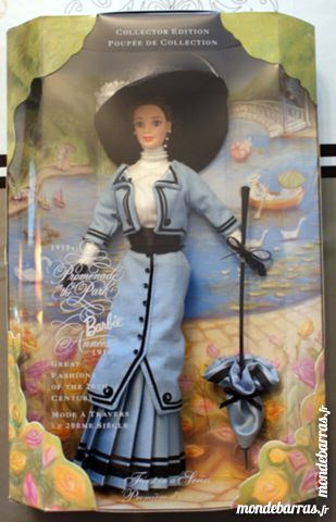 Poupée Barbie - Mode 1910. Promenade dans le parc 100 Cabestany (66)