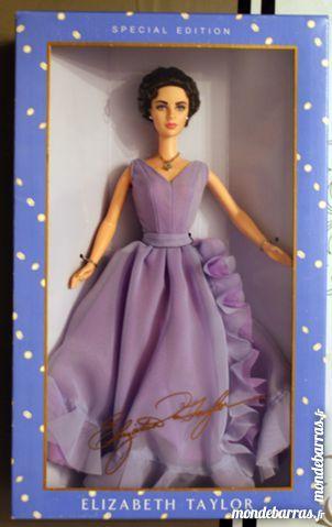 Poupée Barbie spécial édition Elisabeth Taylor 100 Cabestany (66)