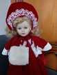 poupée porcelaine 41cm  en trés bon état