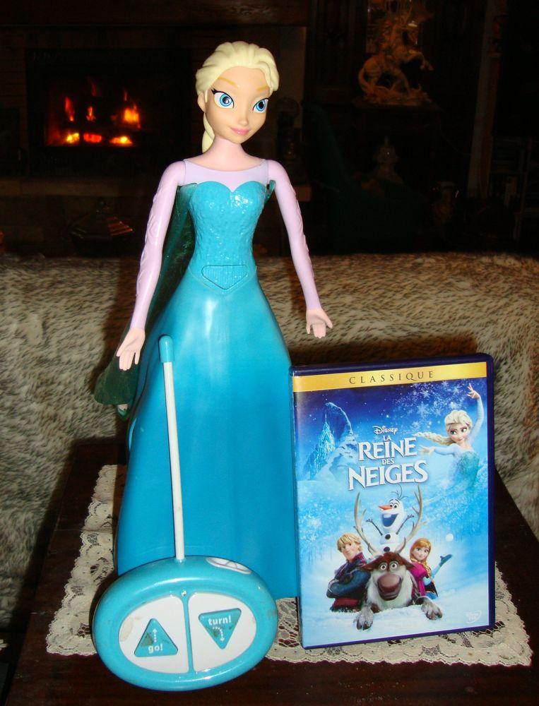 poupée ' La reine des neiges ' - Figurine interactive  30 Pranzac (16)