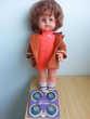 poupée vintage MICHELA parlante