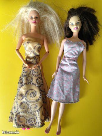 Poupées Barbie et autres... 4 Saint-Vallier (71)