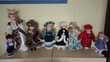 lot de 8 poupées de porcelaine ancienne Saint-Pôtan (22)