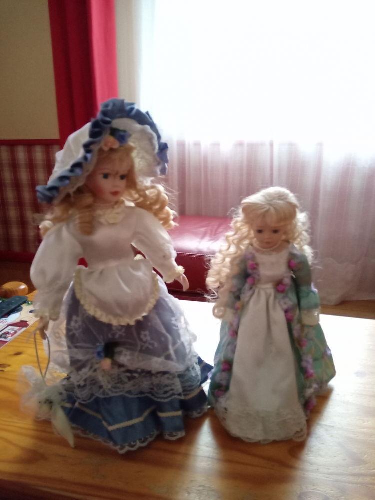 Lot de 2 poupées porcelaine 45 Goincourt (60)