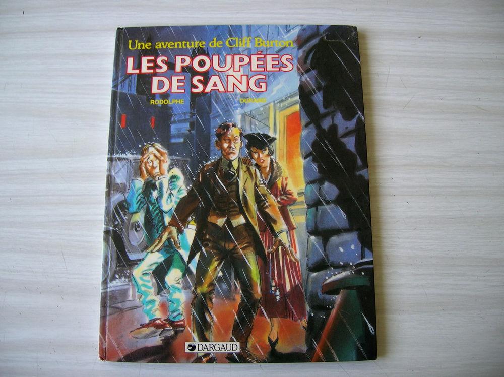 Les Poupées de Sang une aventure de Cliff Burton - BD 8 Nantes (44)