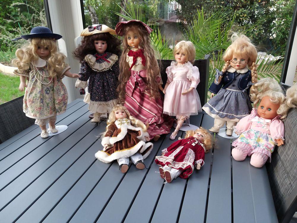 Lot 8 poupées 30 Montluçon (03)
