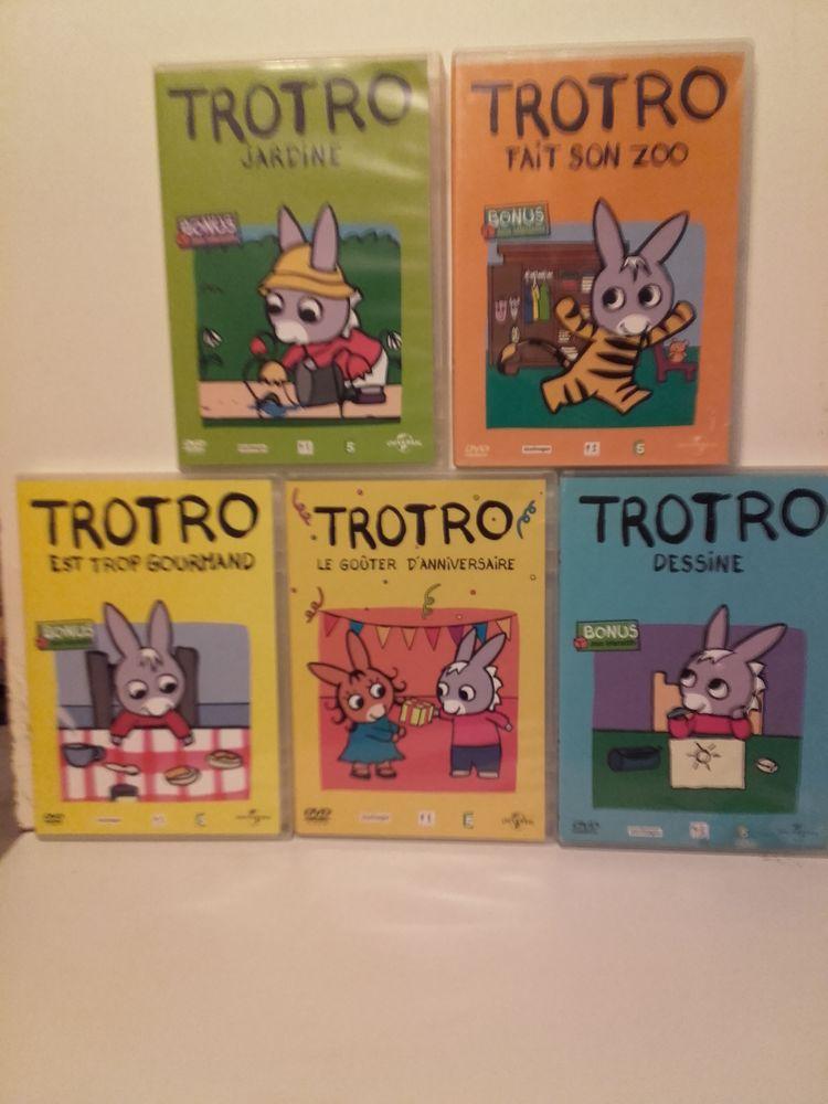Lot 5 DVD Tro Tro pour enfants. 10 euros 10 Taverny (95)