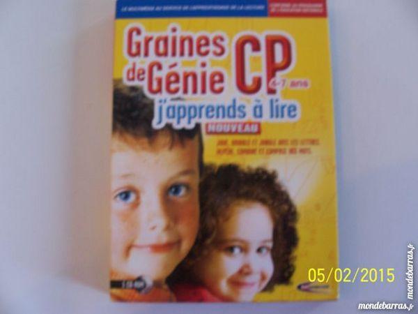 JEU POUR PC GRAINE DE GENIE NIVEAU CP 3 Les Églisottes-et-Chalaures (33)
