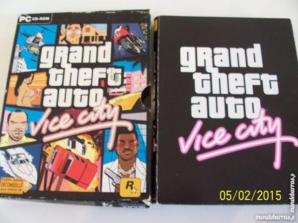 JEU POUR PC GRAND THEFT AUTO VICE CITY 16 ANS ++++ 5 Les Églisottes-et-Chalaures (33)