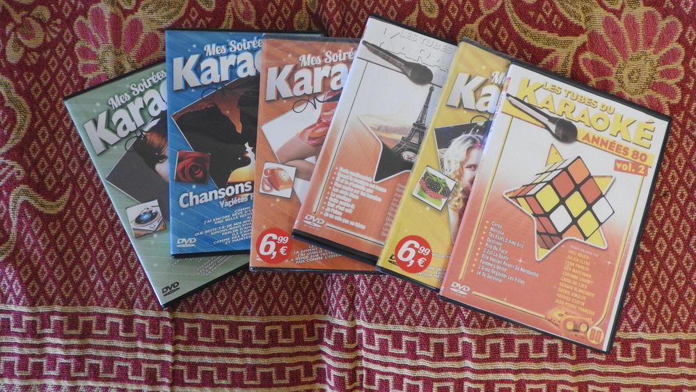 6 DVD POUR KARAOKE 20 La Teste-de-Buch (33)