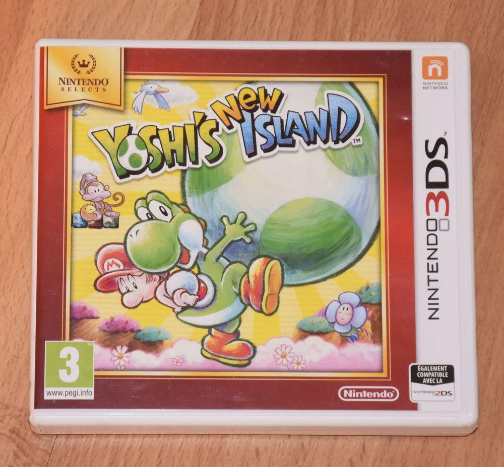 Jeu pour 3ds Nintendo. Yoshi's new island. Très bon état Consoles et jeux vidéos