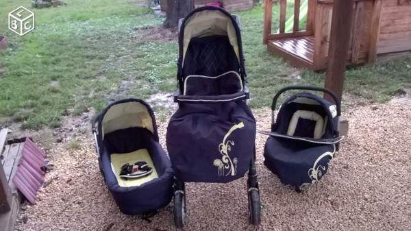 poussette trio travel 3 sport babybus