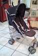 poussette canne pliable  4 roues doublées Chicco