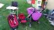 Poussette couffin siège auto chaise haute Saint-Genis-Pouilly (01)