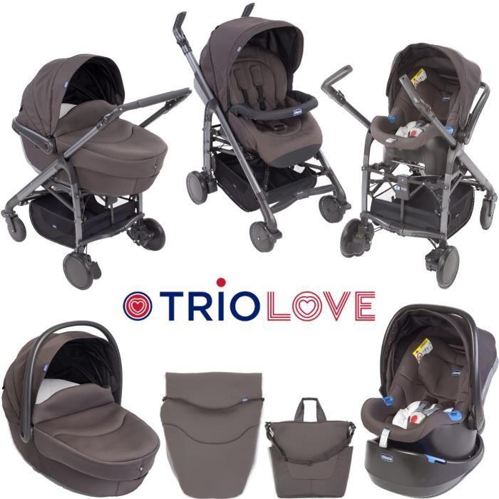 Poussette, nacelle, siège auto Trio Love Chicco 250 Marseille 4 (13)