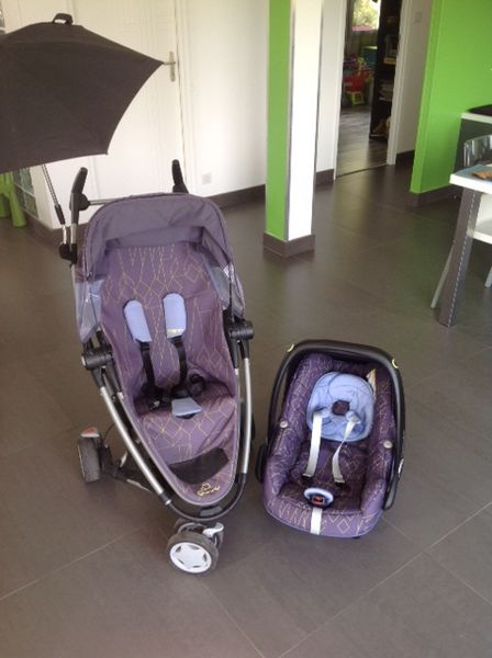 Poussette Quinny Zapp Xtra 210 Wailly (80)