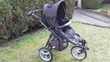 Poussette 3 roues de Bébé confort + cosy + base (noir) Puériculture
