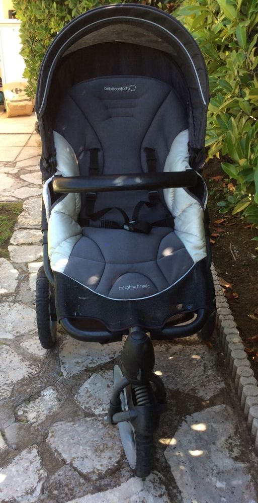 Poussette 3 roues + Cosy 125 Nice (06)