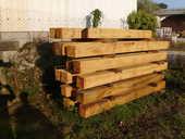 poutres chêne 25x25 45 Parthenay (79)