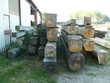 poutres chêne 40x40 longueur 4m50 Bricolage