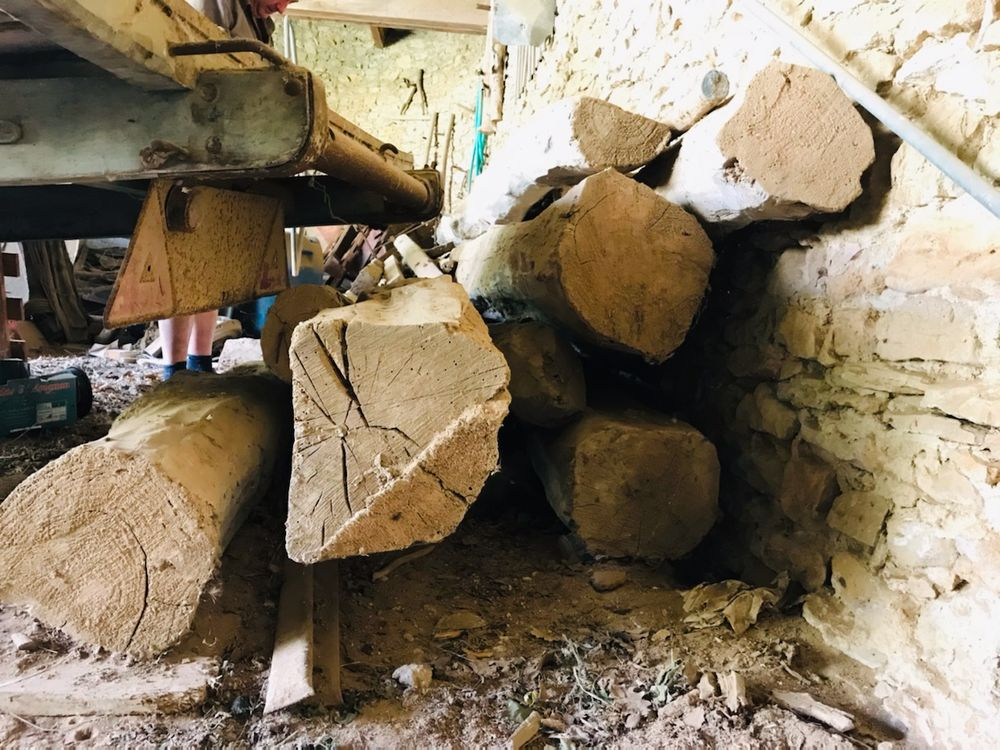 Poutres en chêne ancien 50 Montpellier (34)