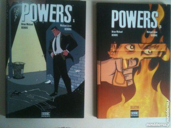 """""""""""""""Powers"""""""" T1 + T3 (Semic) (EO)"""" Livres et BD"""