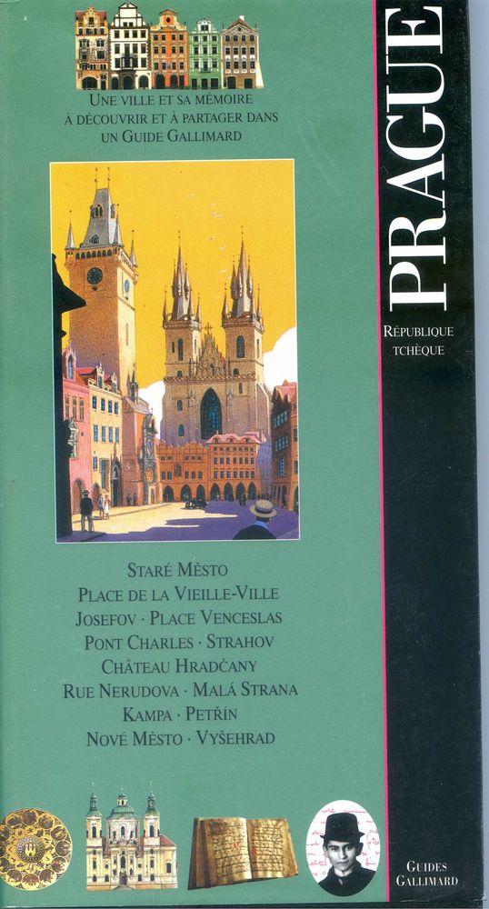 PRAGUE, Livres et BD