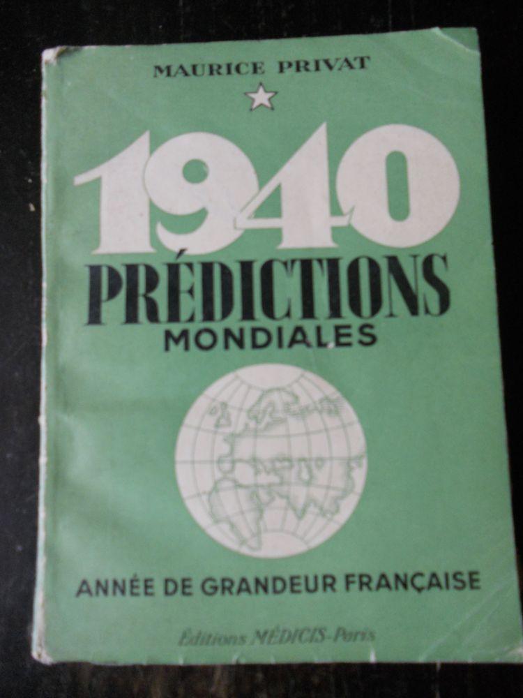 PRÉDICTIONS MONDIALES  de MAURICE PRIVAT . 1940 12 Tours (37)