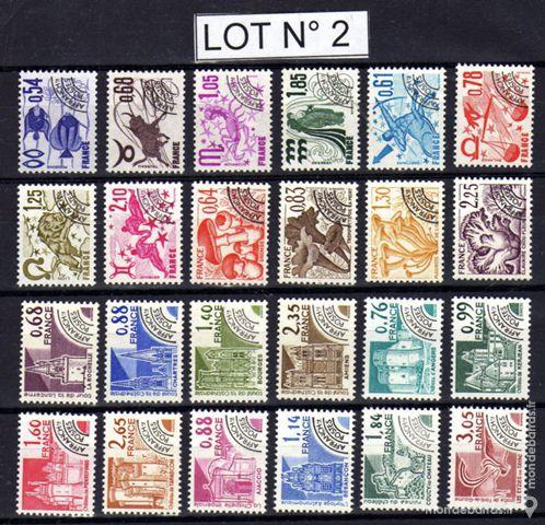 Préoblitérés timbres NEUFS** LOT N° 2 6 La Seyne-sur-Mer (83)