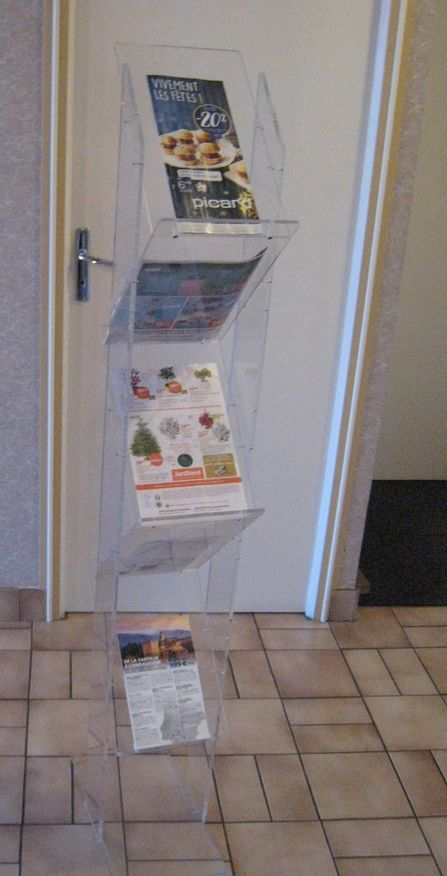 Présentoir de document-brochures 40 Vertou (44)