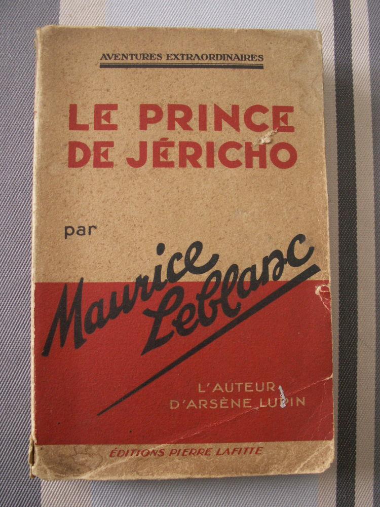 Le prince de Jericho Maurice Leblanc le chapelet rouge  40 Villenave-d'Ornon (33)