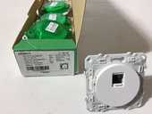 PRISE RJ45 BLANC - SCHNEIDER ELECTRIC - Type ODACE 4 Chartres (28)