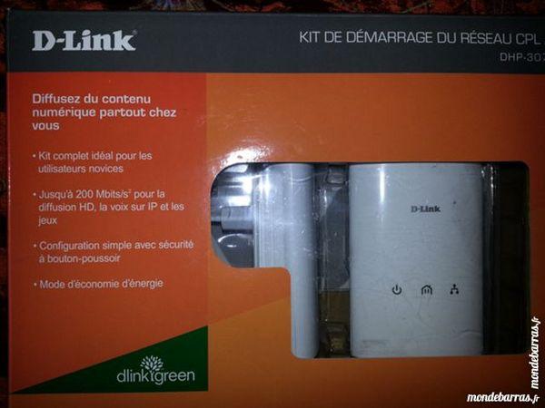 2 Prises CPL D-Link 200 Mbits/s 20 Toulouse (31)