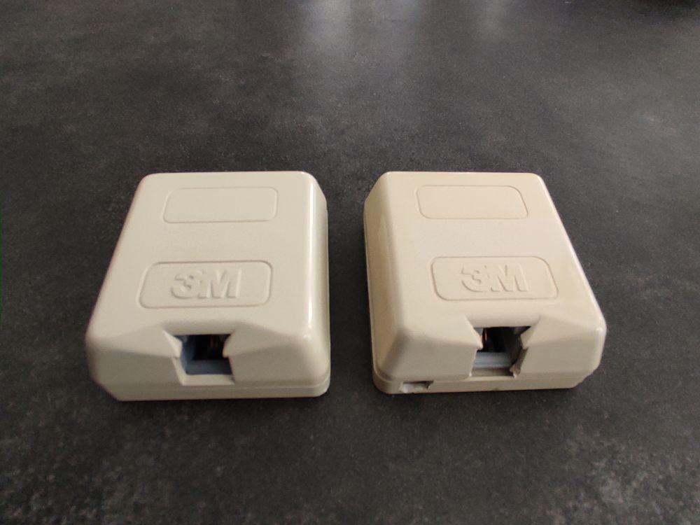 Prises RJ11 3M pour téléphone ou ADSL / L 3 Boisset-et-Gaujac (30)