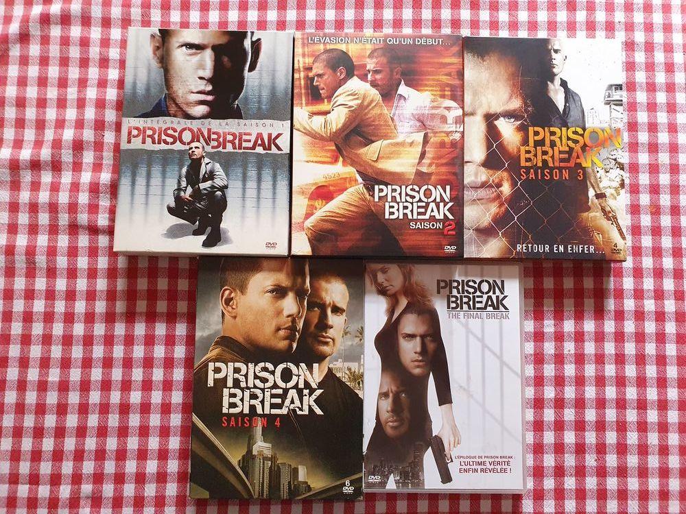 Prison Break Saison 1 à 4 avec DVD du final 33 Guebwiller (68)