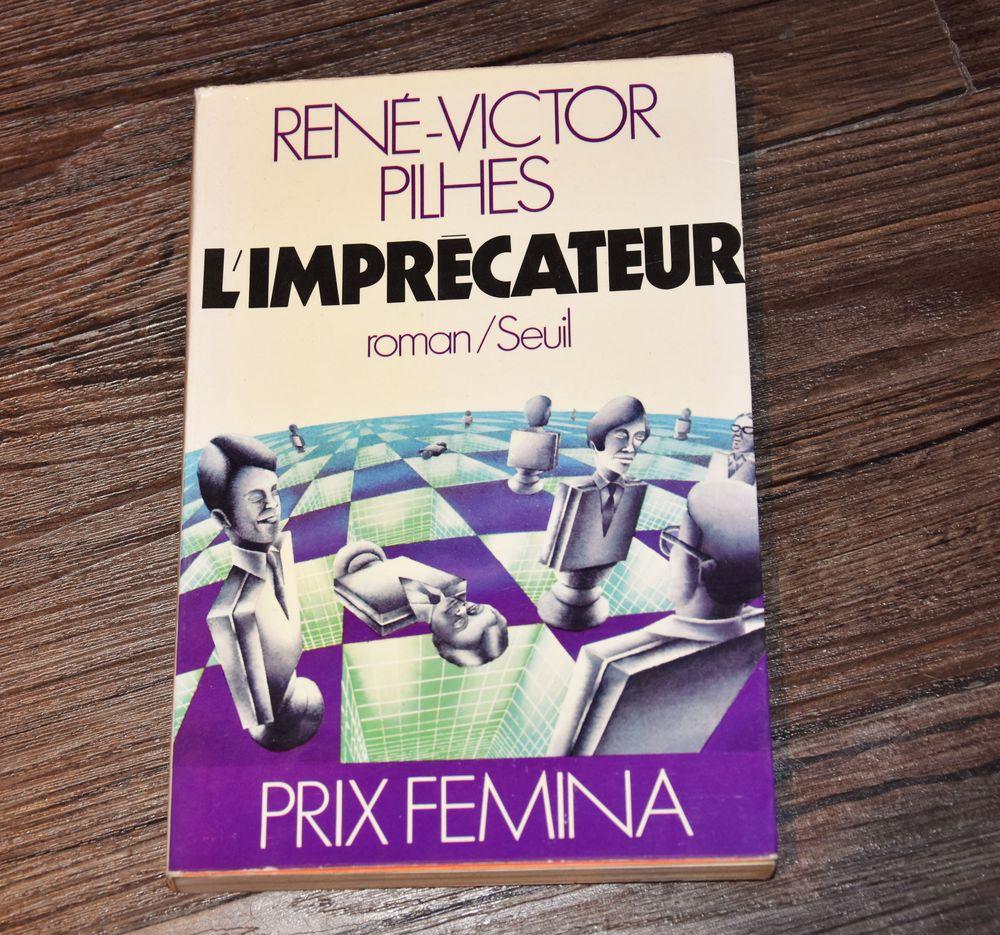 Prix Fémina: L'imprécateur de René Victor Pilhes. 3 Gujan-Mestras (33)