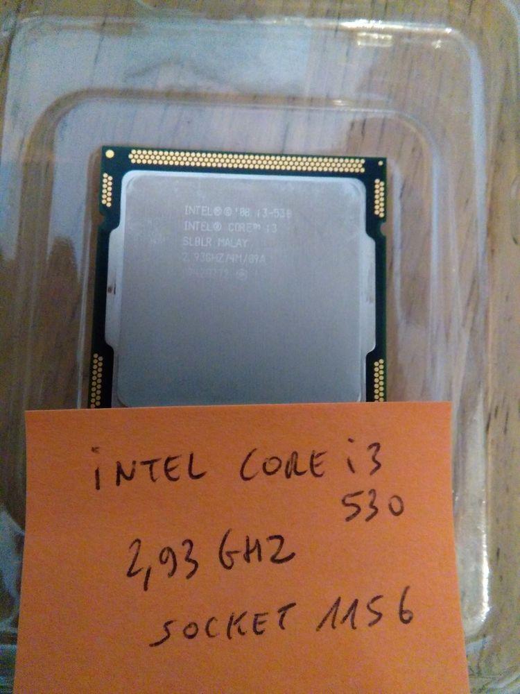 Processeur Core i3 530 2,93Ghz Socket 1156 Matériel informatique
