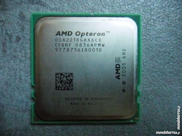 CPU / Processeur AMD Opteron 2218 (socket F) 12 Lyon 9 (69)