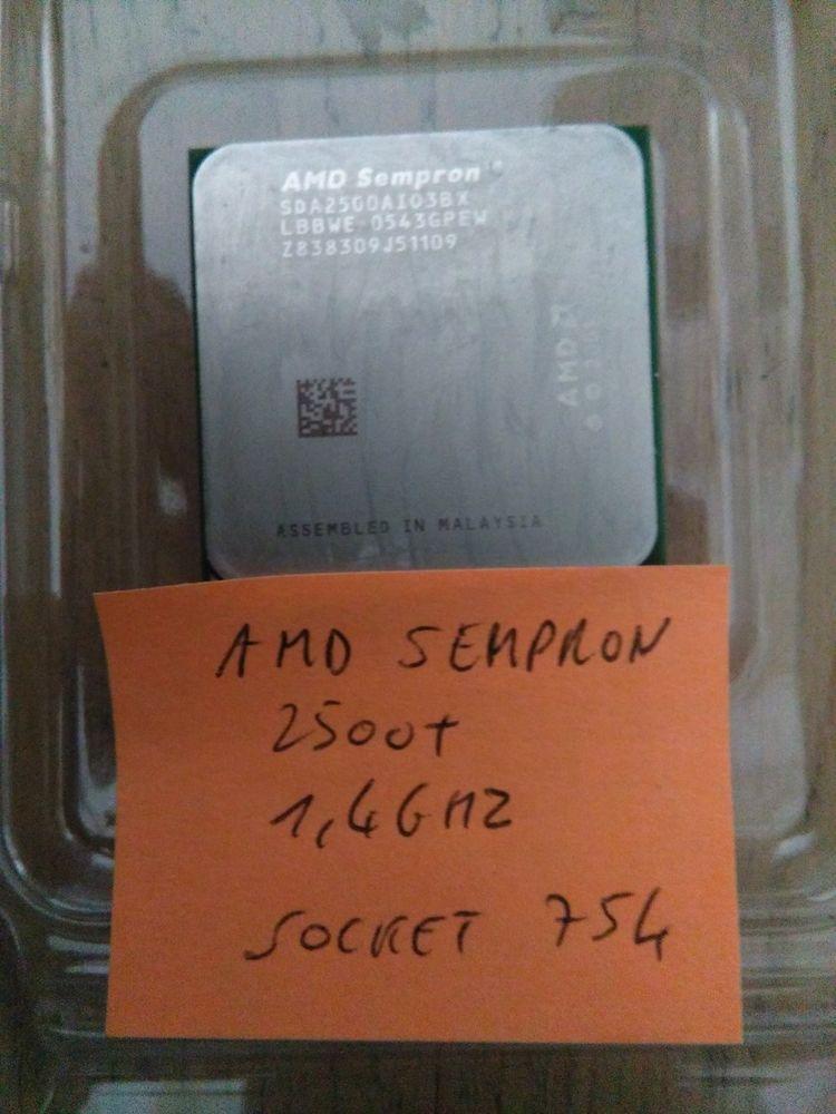 Processeur AMD Sempron 2500+ 1,4Ghz Socket 754 Matériel informatique